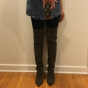 Aldo Haskova OTK thigh high boots